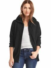 Gap Soft Zip Hooded Sweater in Black ~ NWT ~ Size Small S