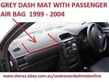 DASH MAT, DASHMAT, DASHBOARD COVER FIT HOLDEN ASTRA 1999 - 2004, AIR BAG,  GREY