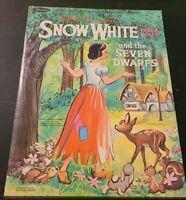 Vintage Snow White and the Seven Dwarfs Paper Dolls