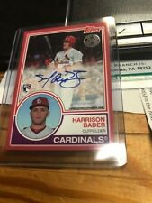2018 TOPPS HARRISON BADER Autograph # 8A-HB # RARE 18/25  MINT FROM PACK