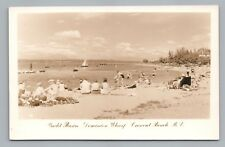 Yacht Basin—Crescent Beach BC Photo RPPC Vintage SURREY British Columbia 1950s