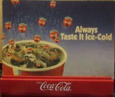 CONVEYOR BELT COCA-COLA SIGN, OPEN CASH REGISTER SIGN COKE RARE ITEM!