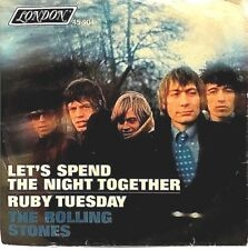 """ROLLING STONES """"Let's Spend the Night Together"""" 7"""" 45 RPM - 1967 London 45-904"""