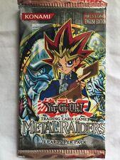 Yu-Gi-Oh! TCG Metal Raiders Booster Pack | Factory Sealed