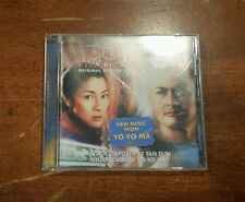 Crouching Tiger Hidden Dragon Motion Picture Soundtrack Music CD