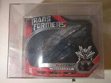 super rare AFA 9.25 Transformers 2008 Blackout premium series with Scorponok