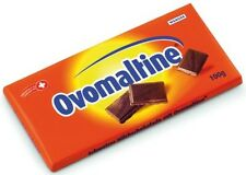 OVOMALTINE - finest swiss milkchocolate & crispy ovomaltine granules - (2) bars