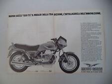 advertising Pubblicità 1983 MOTO GUZZI 850 T5 T-5