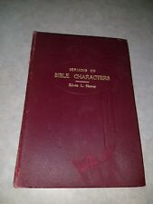 Sermons On Bible Characters Edwin L Harvey