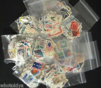 5 - Lots 50 Postage Stamps COLLECTIONS Off Paper = 250 Stamps Total whotoldya