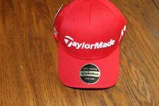 TaylorMade Golf Tour Radar M1 TP5 Adjustable Hat Cap - Tour Model - Red/w/White
