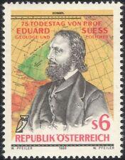 Austria 1989 Eduard Seuss/geólogo/político/política/Mapas/ciencia 1v at1074a