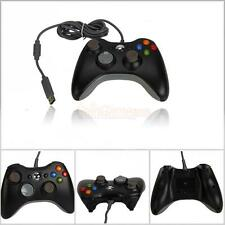 Newest Wired USB Game Pad Controller For Microsoft Xbox 360 Black Free Shipping