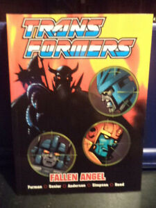 Transformers - Fallen Angel (Marvel-Titan Books) Graphic Novel