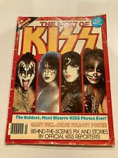 2 KISS Gene Simmons Ace Frehley Peter Criss Paul Stanley Magazines with Poster
