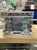 Funko Pop! Avengers Morgan Stark And Tony Stark 2 Pack Pop In A Box Exclusive