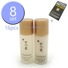 Sulwhasoo Concentrated Ginseng Renewing water 5ml x8pcs+Emulsion 5ml x8pcs+2gift