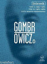 Dziennik. Tom 2 i 3 (audiobook CD) Gombrowicz Witold - POLISH POLSKI