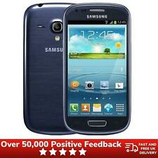 Samsung Galaxy S3 Mini Smartphone 8GB Locked to O2 i8190N Blue - Good