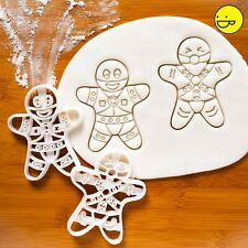 MATURE - 2 BDSM Gingerbread Man cookie cutters: Dominant & Submissive bondage