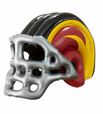 Inflatable American Football player helmet blow up sports fancy dress