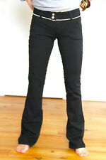 jeans bootcut slim noir strass MET AND FRIENDS k-flair T 25 34 fr i38 NEUF 162€
