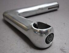 """Cinelli XA Stem / 1"""" Zoll / 110 mm / Silver / ø 26,4 mm/ Vorbau Flying C Logo"""