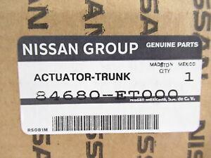 Genuine OEM Nissan 84680-ET000 Trunk Lock Latch Actuator 2007-2012 Sentra