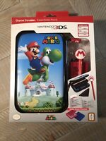 Nintendo 3DS 2DS XL Game Traveler Essentials Pack Super Mario System Case