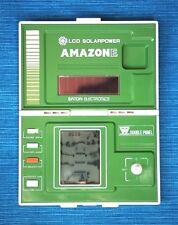 AMAZONE Game & Watch (BANDAI). LCD SOLARPOWER Double Panel. VERY RARE!