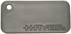 Hayes Brake Pad Spacers 10-Pack (1 Hole for Pin Pad in Each Spacer)