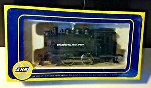 NIB Rivarossi Italy AHM 5017 B & O 0-4-0 Dockside Switcher Locomotive HO SEALED