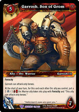 WOW WARCRAFT TCG WAR OF THE ANCIENTS : GARROSH, SON OF GROM X 4