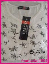 Damen T-Shirt 3/4 Arm 95% BW Gr.44 / L  , T / 8 - 2