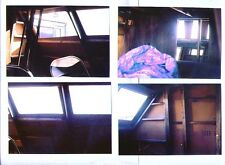 4 STAR TREK Galileo 7 shuttle interior prop photos