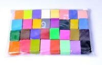32 PCS Polymer Clay Blocks Fimo DIY Malleable Modelling Craft Plasticine