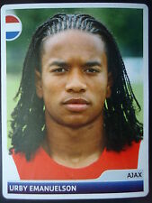 Panini 347 Urby Emanuelson Ajax Amsterdam UEFA CL 2006/07