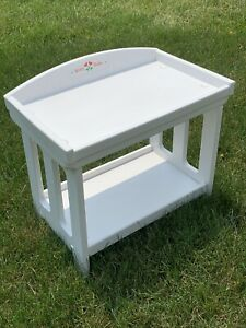 American Girl Bitty Baby Doll Changing table - now retired White