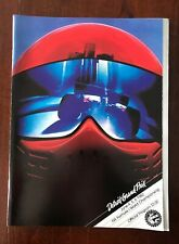 1982 Detroit Us Grand Prix Official Formula One Event Program Nos Pics!