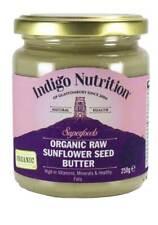 Indigo Herbs Organic Raw Sunflower Seed Butter 250g 100% Pure