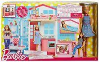 la casa componibile di barbie con bambola inclusa Mattel