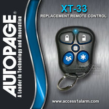 Autopage Replacement Remote Control Transmitter XT-33 H50T21 DISPLAY MODEL