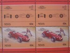 1957 MASERATI Tipo 250F Race Car 50-Stamp Sheet / Auto 100 Leaders of the World
