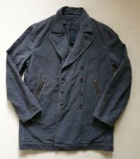 Mens PAUL SMITH PEA COAT JACKET Grey Moleskin Size L (44) RRP £380 New Tags