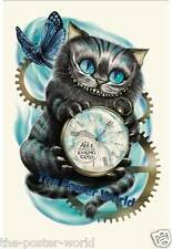 Cheshire Cat Alice In Wonderland Picture Poster Home Art Print Wall Decor New