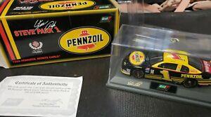 STEVE PARK #1 PENNZOIL 1:43 REVELL IN CASE 1998 NASCAR DIECAST  blk box