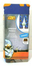 "Star Wars Disney Microfiber Kids Bedroom 63"" Window Curtain Panel 1 Set"