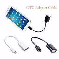 Micro A Male to USB2.0 B Female Converter OTG Adapter Host Cable For Samsung HTC