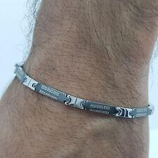 Bracelet Acier Inoxydable Inox 316L classique Link Chain Homme BIJOUTERIE T1
