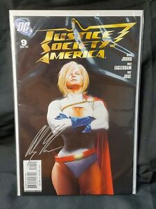Justice Society of America (2007) #9 - Alex Ross Cover - DC SIGNED w/ COA NEW